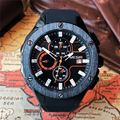 Лидирующий бренд, роскошные мужские спортивные часы MEGIR, хронограф, силиконовый ремешок, кварцевые военные часы с большим циферблатом, мужс...