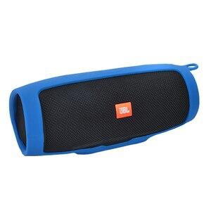 Image 3 - Nouveau housses pour de haut parleur en Silicone souple JBL Charge 3 haut parleur Bluetooth manchon de protection antichoc pour haut parleur JBL Charge3