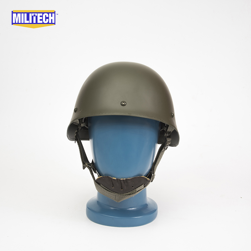 Militech Oliver Drab OD Green French F1 Model 1988 Version Steel Paratrooper High Quality Repro Collection Helmet s oliver джинсы