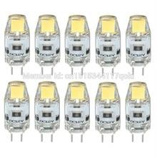 3W G4 0705 COB 300-350LM DC12V Warm White or Cool White or Natural White Decorative  Waterproof  LED Bi-pin Lights 10PCS JTFL044