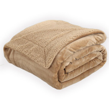 Одеяло 150*200 см из овечьей шерсти, Двухслойное, шерпа, плюшевое, флисовое, пледы для кровати, покрывало для дивана, манты, покрывало для кровати, s покрывало