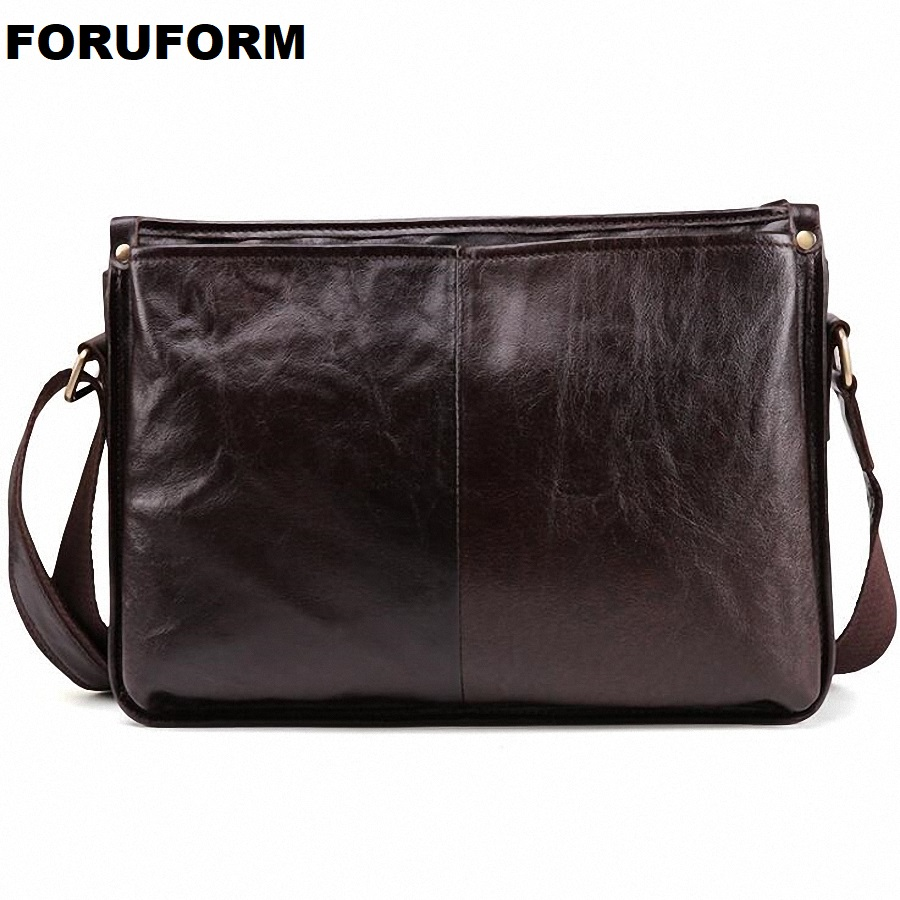 Genuine Leather Bag Men Bags Male Shoulder Crossbody Bags Messenger Small Flap Casual Handbags Men Leather Bags LI-2272 цены