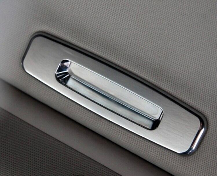 Paillettes de handshandle de secousse de lucarne de style de voiture pour ford focus 2 focus 3 accessoires de garnitures chromées d'abs
