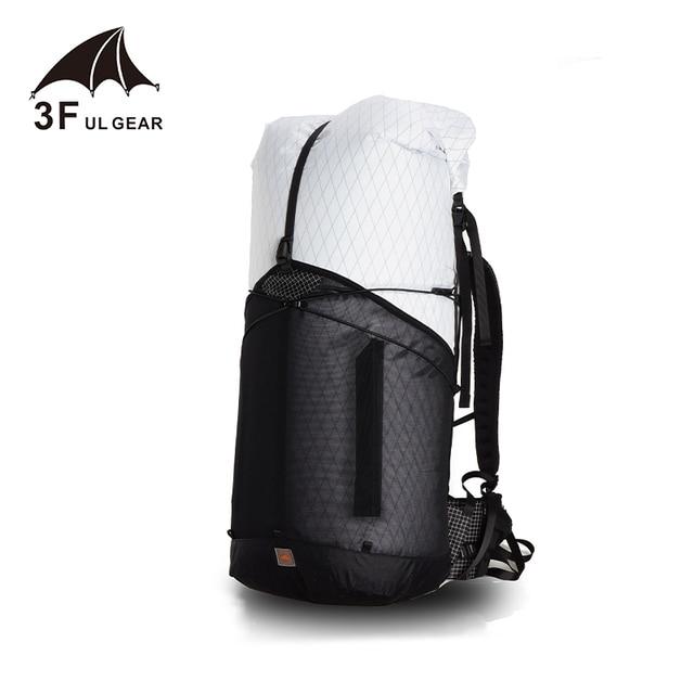 3F UL GEAR Trajectory 55 캠핑 하이킹 배낭 경량 여행 배낭 야외 스포츠 가방 등산 배낭