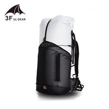 3F UL dişli yörünge 55 kamp yürüyüş sırt çantası hafif seyahat sırt çantası açık spor çantası tırmanma sırt çantası