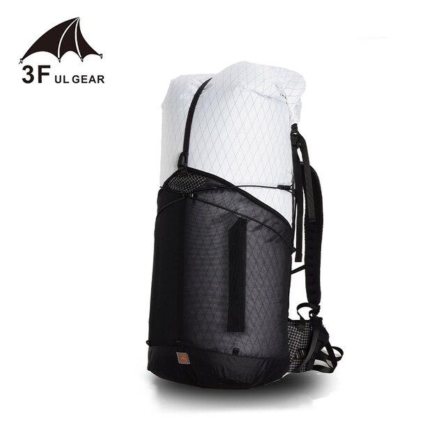 3F ulギア軌道55キャンプハイキングバックパック軽量トラベルバックパック屋外スポーツバッグリュック