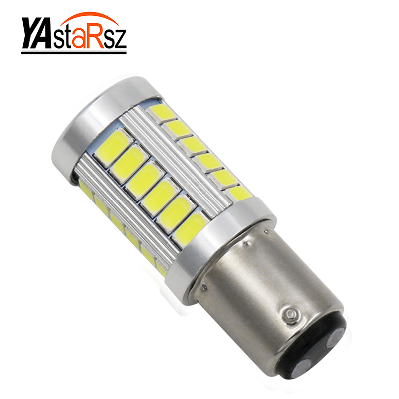 1x High Quality 1157 BAY15D P21/5W 33 SMD 5630 5730 Car Led Turn Signal Lights Brake Tail Lamps 33SMD Auto Rear Reverse Bulbs high quality 10x 1157 bay15d p21 5w 13 smd 5050 car led turn signal lights brake tail lamps 13smd auto rear reverse bulbs dc 12v