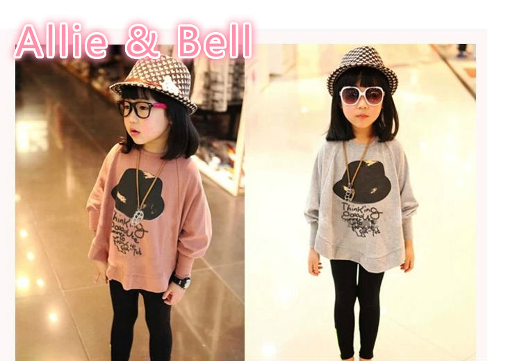 New Hot Girls Bat Blouses Fit 3-7Yrs Children Casual Shirt Spring Autumn Kids Blouses Cotton Baby Blouses Clothing Retail