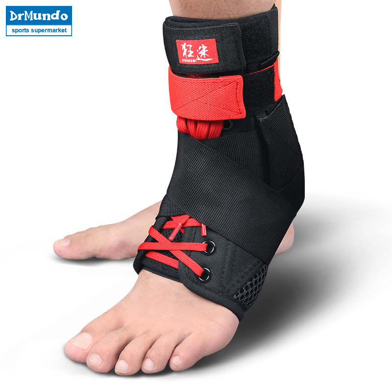 Black Super Strong Ankle Bandage Ankle Brace Support Sports Foot Stabilizer Pain Ankle G ...