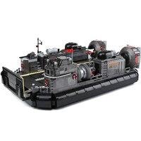 Xingbao 06019 натуральная Военная Униформа серии амфибия транспортный корабль набор Строительный кирпич Конструкторы Игрушечные лошадки как ро