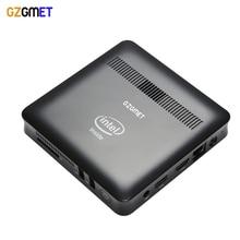 GZGMET Windows 10 Intel Z8350 Quad Core 2G RAM HDMI WiFi  Business Household Portable Pocket Desktop media Computer Mini PC