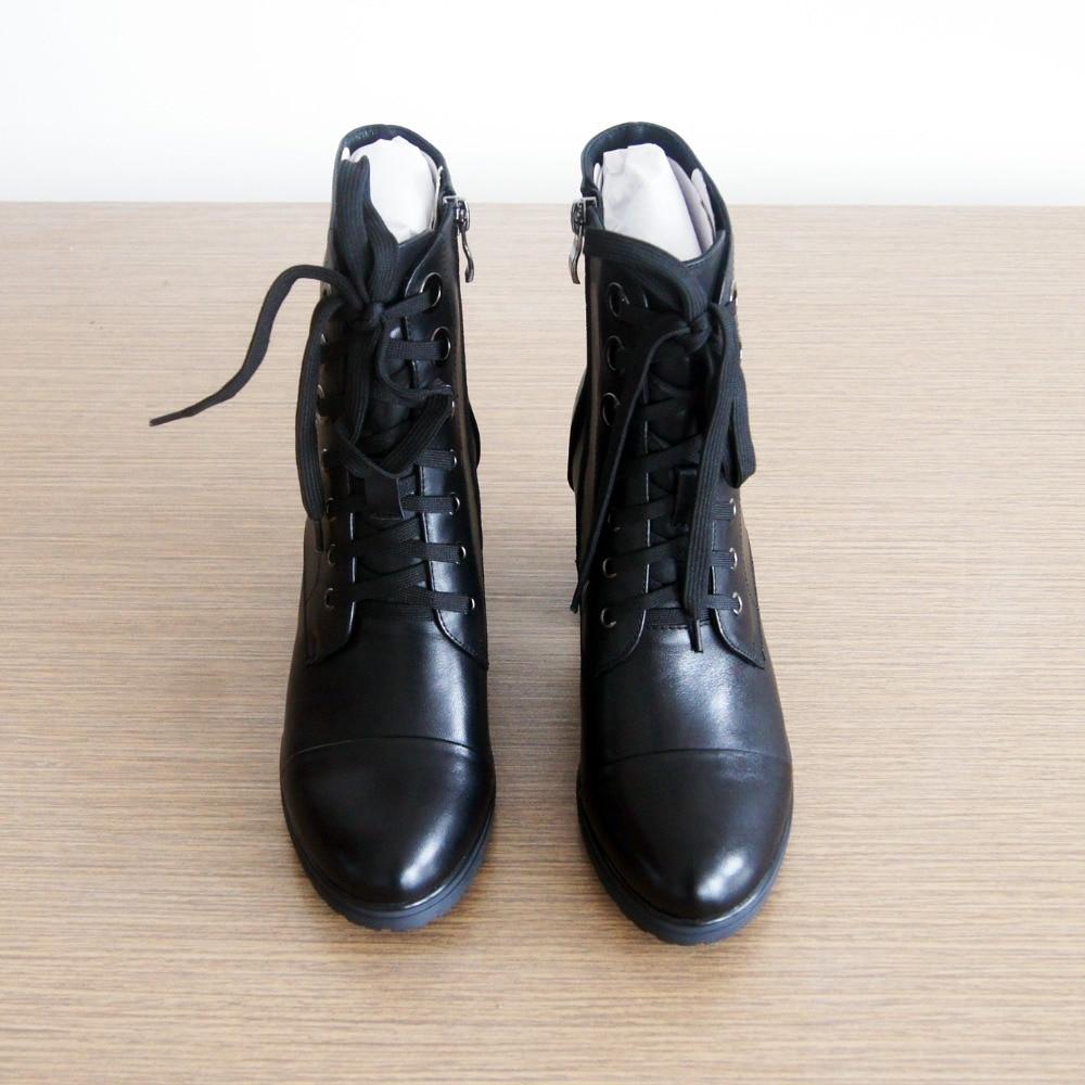 IDizmet e grave LIDIAN çizme prej lëkure origjinale të bëra me - Këpucë për femra - Foto 6