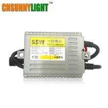 CNSUNNY светильник для автомобиля ксенон HID балласт 55 Вт Быстрый старт быстро яркие блоки на замену для Авто головной светильник ксенон светильник источник Стайлинг