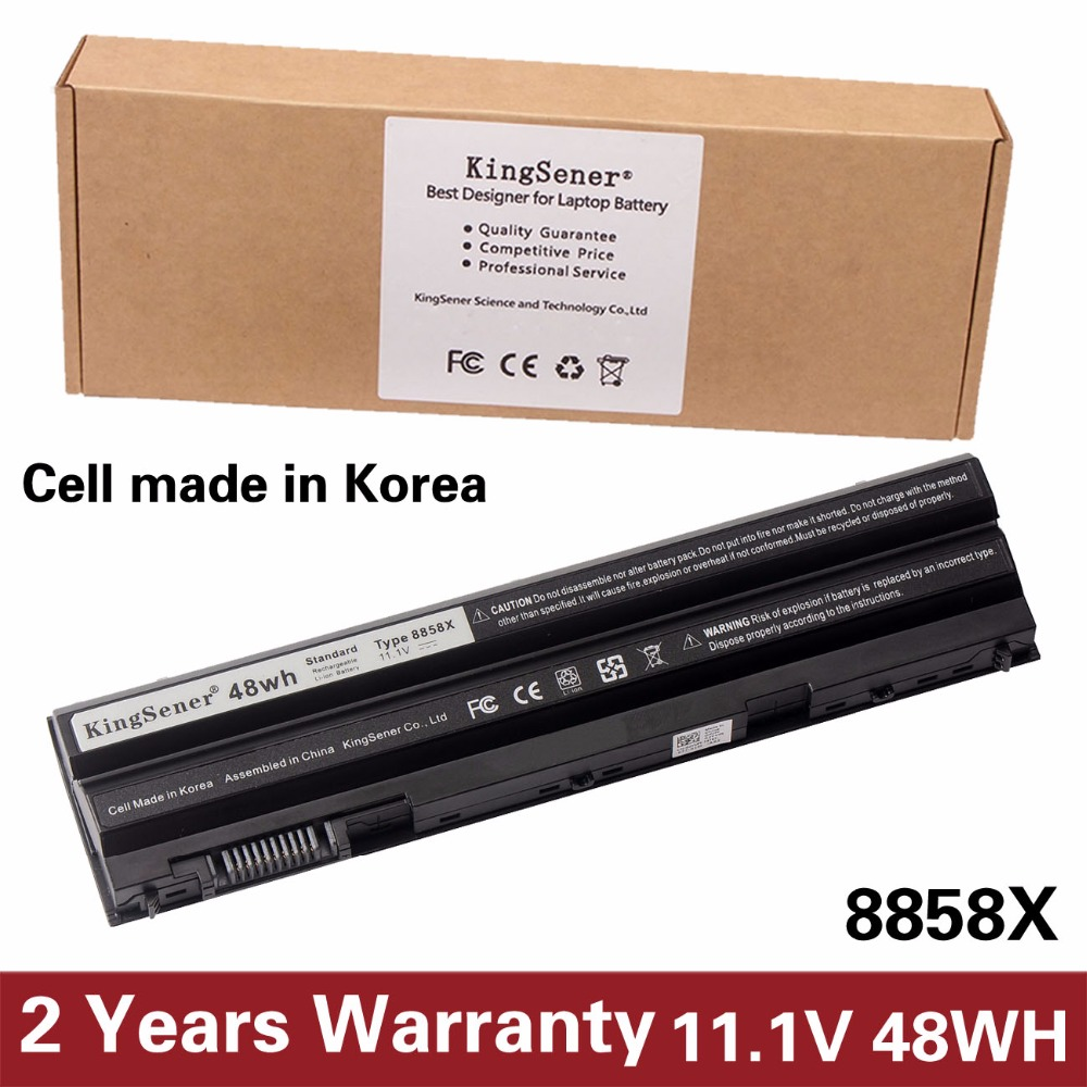 KingSener Korea Cell 8858X Battery for DELL Vostro 3460 3560 V3460D V3560D for Inspirion 5520 7720 7520 5720 8858X 11.1V 48WH n241h laptop battery for dell vostro 1310 1510 6 cell 11 1v 48wh type k738h