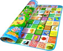 Baby Play Mat 200*180*0.5cm Crawling Mat Double Surface Baby Carpet Rug Animal Car+Dinosaur Developing Mat for Children G double surface baby play mat 200 180 0 3cm crawling mat baby carpet animal car dinosaur developing mat for children game mats