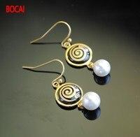 Cloisonne hand painted enamel European style earrings 7