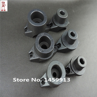Free shippng 3pcs(sets) Black Color plastic welding nozzle  PPR pipe butt welding die head  20/25/32mm Welding Mold