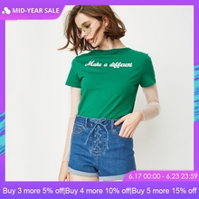 ONLY 2019 Spring Summer New Women's High-rise Lace-up Rolled Shorts |118143509