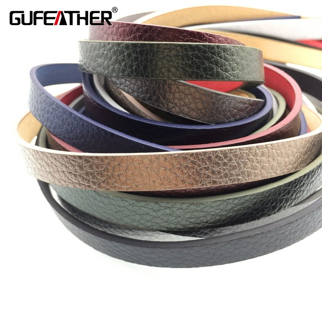 GUFEATHER P85/10MM PU leather cord/jewelry accessories/accessories parts/jewelry findingshand made/embellishments