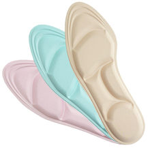 Sponge Women High Heel Shoe Pad Inserts Cushion Massage Foot Insoles For Shoes Padding Soles Shock Absorbing Insole Inlegzolen(China)