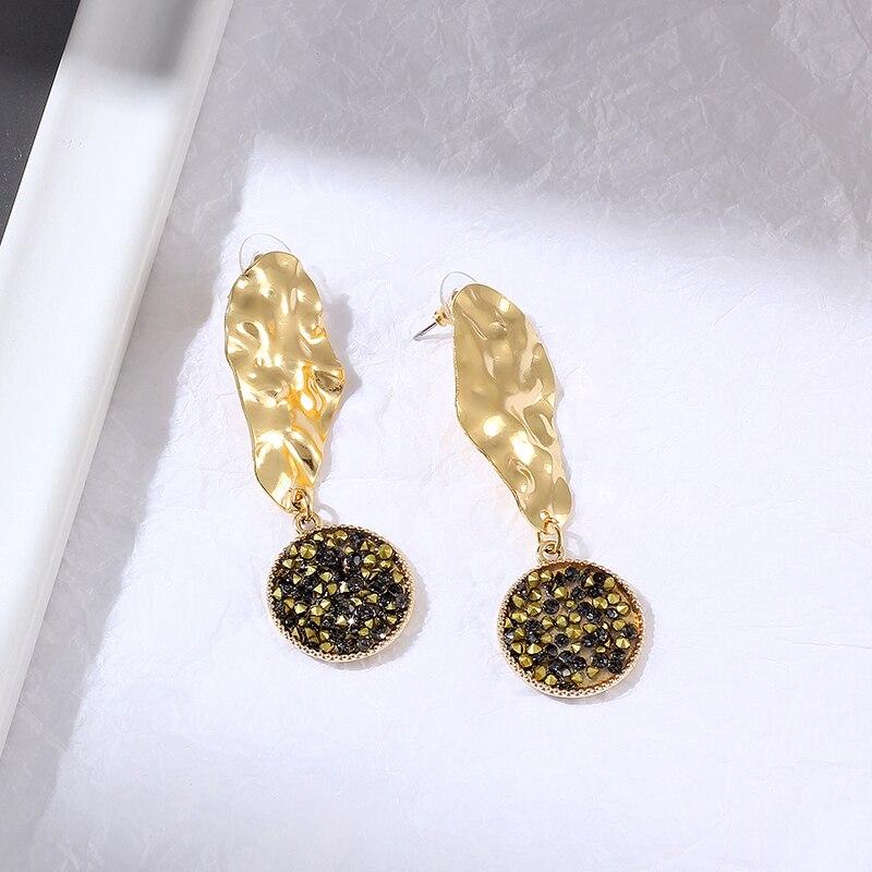 LBS Brand New 18KGP Black CZ Earring valentine's day earrings for women Dropshipping