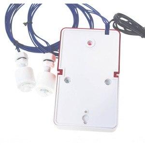 Image 2 - Wycieku wody przepełnienie Alarm czujnik 110dB głos 1.0m kabel wysokiej niskiego poziomu wody system alarmowy do domu