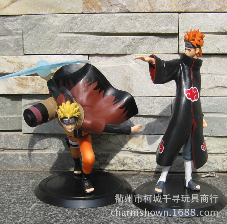 2pc/set Naruto Naruto Uzumaki Naruto Pain Action Figures Anime PVC brinquedos Collection Figures toys for Christmas gifts 2017 anime transformation 4 cars robots toys pvc action figures toys brinquedos model boy toy christmas gifts juguetes cm