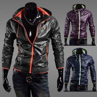 Hot Sale 2013 Fashion Spring Waterprooof Windproof Anti Uv Quick Dry Jackets Men Brand Slim Men