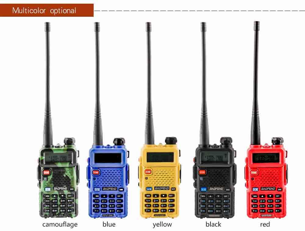 2Pcs BaoFeng UV-5R Walkie Talkie VHFUHF136-174Mhz&400-520Mhz Dual Band Two way radio Baofeng uv 5r Portable Walkie talkie uv5r (10)