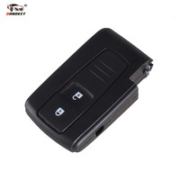 BIGHEAD 2 BUTTON REMOTE KEY CASE FOR TOYOTA PRIUS COROLLA VERSO WITH LOGO
