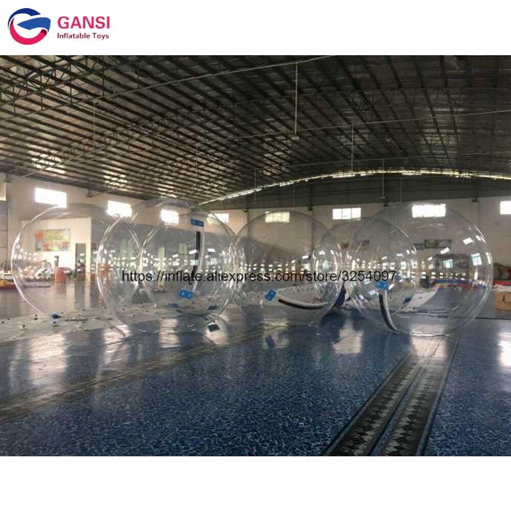 Boule de rouleau de boule de marche de l'eau d'usine de Guangzhou dans la piscine, boule gonflable de 2 m avec la pompe à air