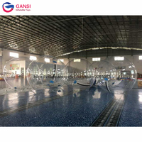Guangzhou factory water walking ball roller ball in pool,2m walk on water inflatable ball with air pump