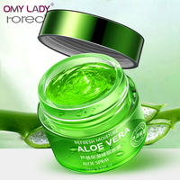 ROREC Aloe facial sleeping mask moisturizer skin care face cream deep hydra anti aging anti wrinkle acne scar treatment aloe gel