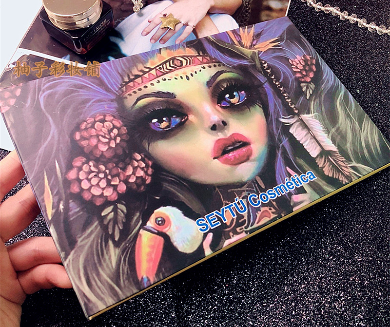 Special 28 Colors Mermaid, Witch Eyeshadow Palette Glitter Matte Eye Shadow Palette Makeup Professional