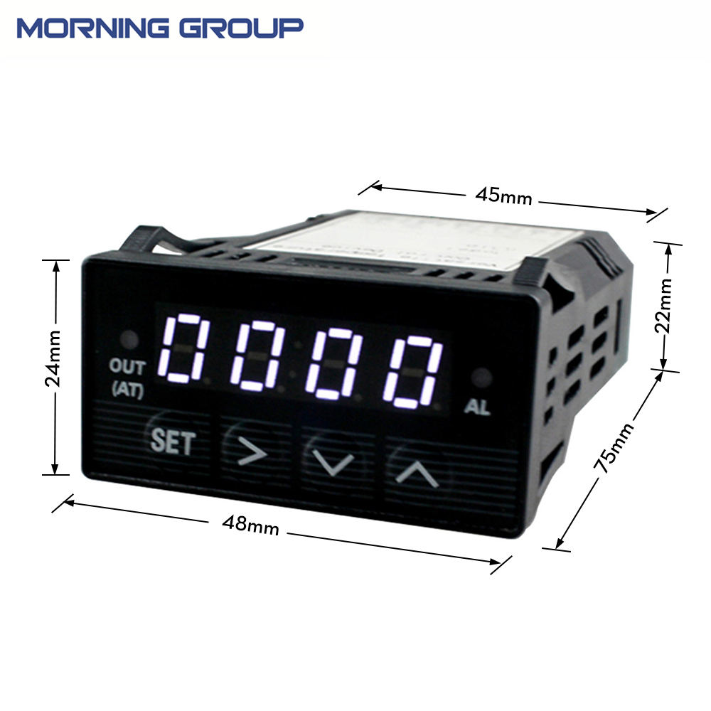 цены XMT7100 Mini Panel Size 48*24mm Intelligent LED Digital Display PID Temperature Controller for Industrial Usage
