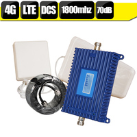 Lintratek 70dB Gain 20dBm GSM DCS 1800mhz Repeater 2G 4G LTE 1800 Cellphone Signal Booster Mobile