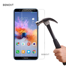 цена на 2PCS Glass For Huawei Honor 7X Screen Protector Anti-sratch Tempered Glass For Huawei Honor 7X Glass For Honor 7X Film BSNOVT