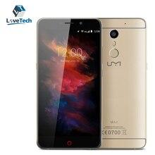 UMI Max 5.5 Pulgadas LTPS Helio P10 MTK6755 Octa Core 4G Oro teléfono inteligente Android 6.0 3 GB RAM 16 GB ROM 13MP 1920*1080 4000 mAh