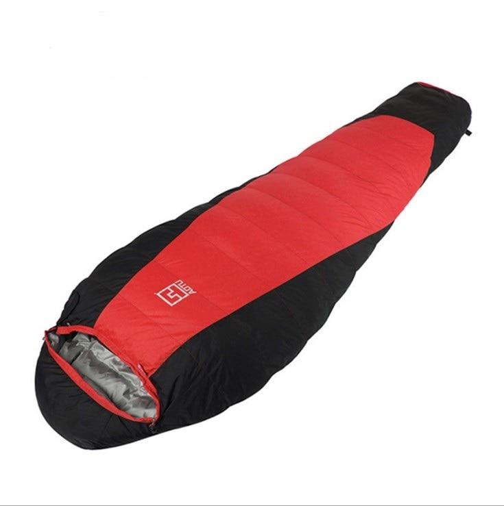 Winter Sleeping Bag At6105 Outdoor Light Eider Down Sleeping Bag Thickened Warm Winter Sleeping Bags