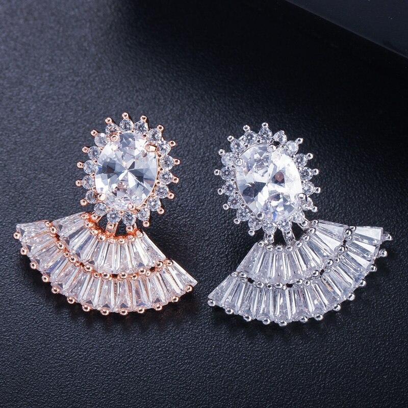 fan stud earrings3