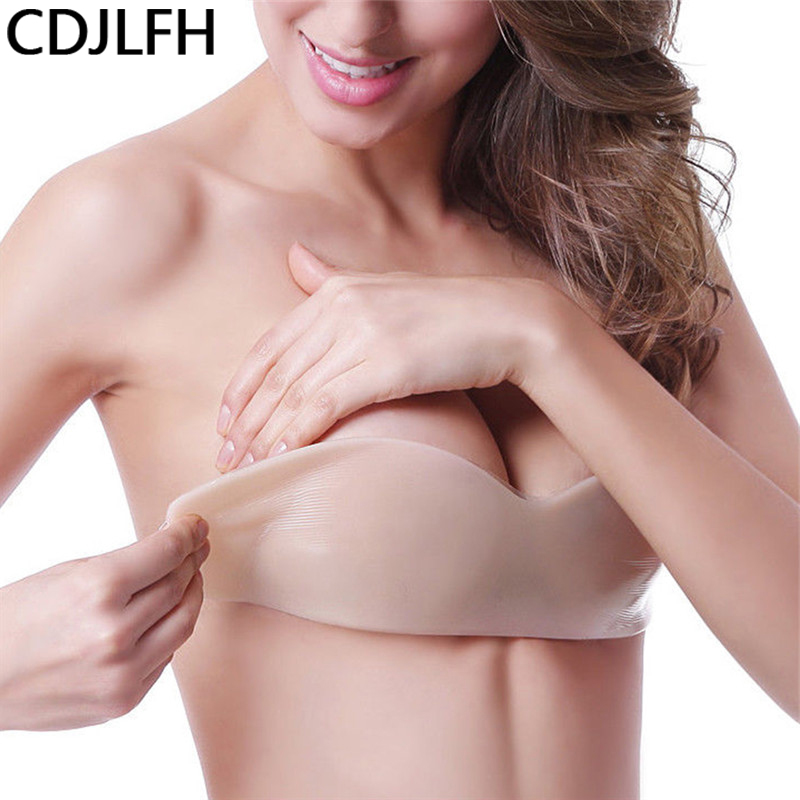 Sexy Bra Lingerie Femme Breast Lift Tape Silicon Bra Push Up Invisible Bras For Women Self Adhesive Nipple Covers Bralettes Pads