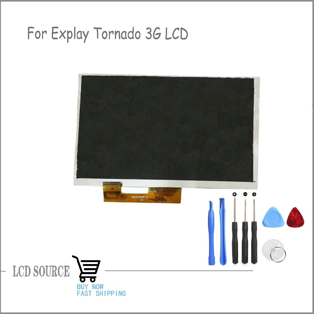 Original LCD Display Matrix 7 Explay tornado 3G Tablet LCD Screen Inner Panel Module Tablet Replacement Parts new 7 inch lcd display for matrix explay tornado 3g tablet pc lcd screen panel inner module replacement free shipping