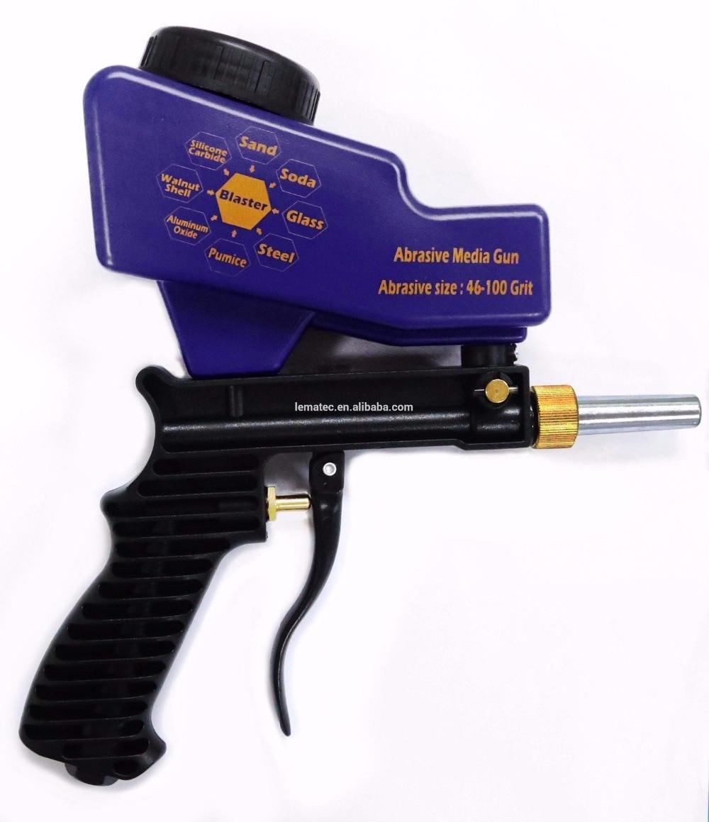 LEMATEC Schwerkraft Sandstrahlen gun Air Sandstrahl sand spritzpistole für rost entfernen Sandstrahler druckluftwerkzeuge