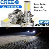 Cặp H4 HB2 9003 Hi/Lo LED Đèn Pha Kit 90 Wát 9000LM 6000 K White Light Bulbs (H7 H8 H11 9004 9005 9006 9007 H16) lỗi Miễn Phí