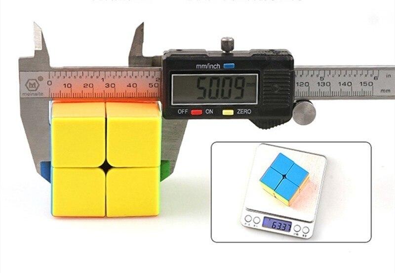 Shengshou 50mm jóia divina 2x2x2 cubo mágico
