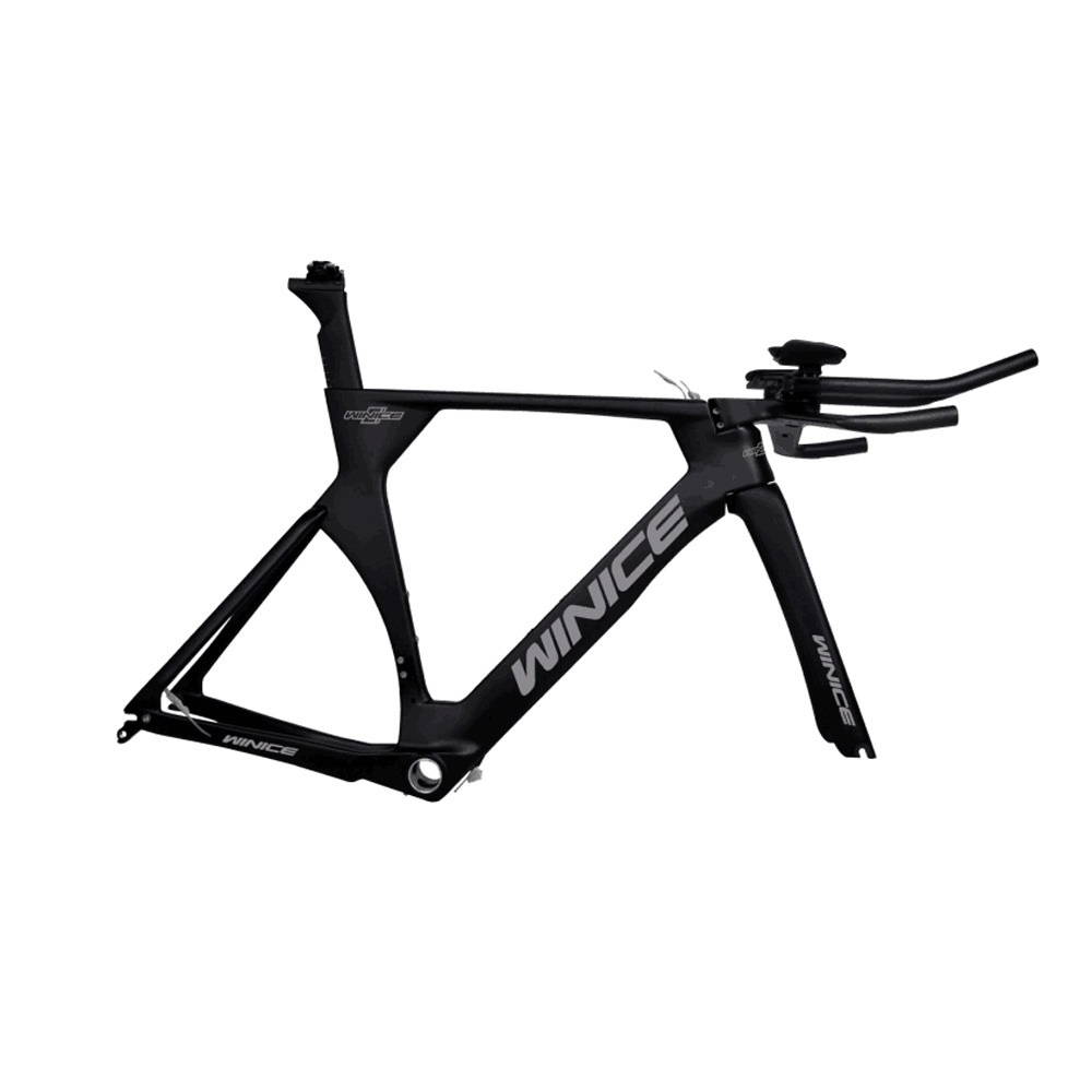 TT aero handle bar UD glossy full carbon TT bicycle part TT frame free shipping