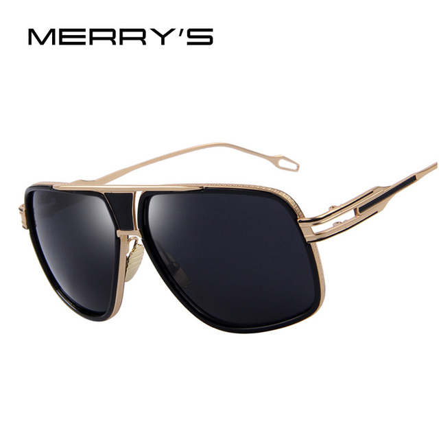 a980066cfa MERRY S Sunglasses Men Newest Vintage Big Frame Goggle Summer Style Brand  Design Women Sun Glasses Oculos De Sol UV400 S 7302