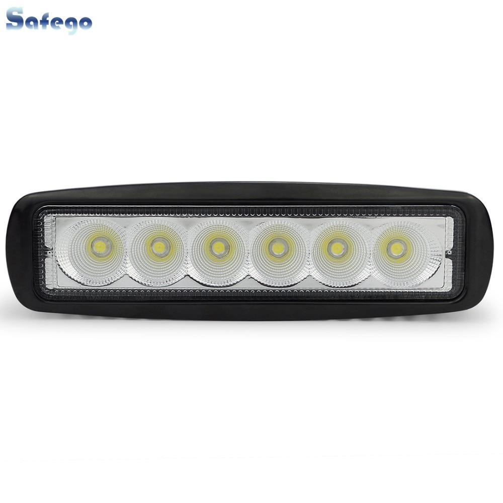 1 stücke 18 watt arbeitsstab spot offroad 18 Watt LED offroad - Auto Lichter