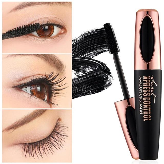 47493c97aed Drop shipping Curling mascara Makeup Eyelash Black Waterproof Fiber Mascara  Eye Lashes makeup 4d silk fiber lash mascara -in Mascara from Beauty &  Health on ...