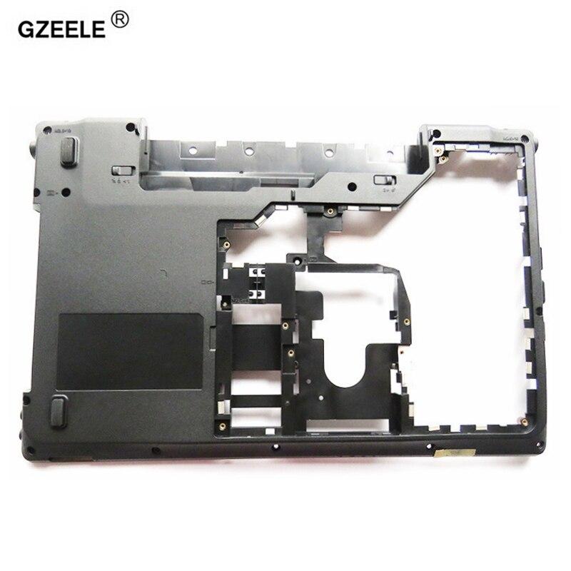 GZEELE Nouvel ordinateur portable couverture de cas de Fond Pour Lenovo G560 G565 G560E Noir D shell MainBoard Boîtier En Bas Minuscules sans HDMI